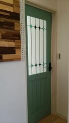 フレスコの分譲住宅 おしゃれなドア