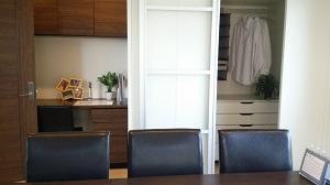 桧家住宅のモデルハウス 書斎付き洋室