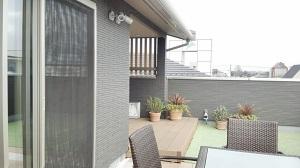 桧家住宅のモデルハウス 自慢の屋上